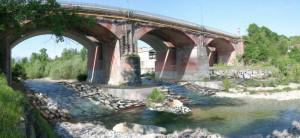 Approvato intervento di 2,3 milioni da euro per consolidare il ponte sul Gesso