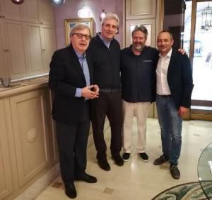 Vittorio Sgarbi in visita a Cuneo: 'Città meravigliosa'