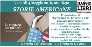 'La Ragazza coi tarocchi' di Fabrizio Brignone alla Libreria dell'Acciuga