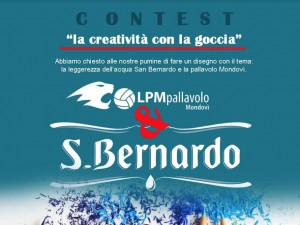 Acqua San Bernardo ed Lpm pallavolo Mondovì insieme per 'La creatività con la goccia'