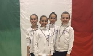 Buoni risultati per le ginnaste del Team Cuneo a Biella