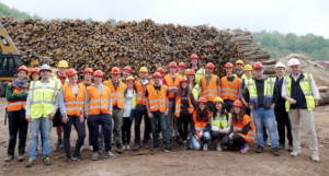 Lezione sul campo a San Michele Mondovì per un gruppo di studenti di Scienze Forestali