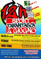 Il 2 giugno la 12 ore di sport a Tarantasca