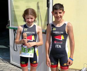 Due giovanissimi triatleti cuneesi saranno di scena a Rimini