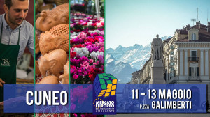 Nel weekend torna a Cuneo il Mercato Europeo