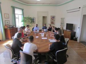 Dalla Spagna a Bra: studenti iberici in Municipio