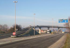 Alba: da lunedì 14 maggio chiuso il ponte della tangenziale all'uscita su corso Nebbiolo