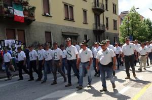 Oltre cinque mila Penne Nere cuneesi a Trento per l'Adunata