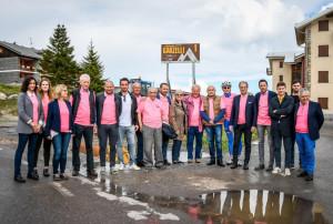 'Tredici campioni per tredici tornanti': Prato Nevoso come l'Alpe d'Huez (LE FOTO)