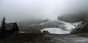 Maltempo: neve di primavera in molte zone del Cuneese (LE FOTO)