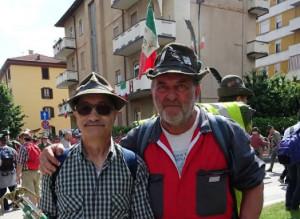 A piedi all'Adunata degli Alpini: la storia di Gianpiero Meineri