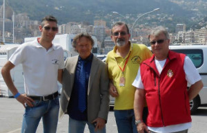 Droneresi e fossanesi alla rievocazione del Gp Moto di Montecarlo