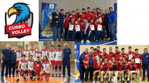 'Triplete' per l'UBI Banca Mercatò Cuneo: tre finali nazionali per le giovanili