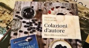 Petunia Ollister al Cuba con 'Colazioni d'autore #bookbreakfast'