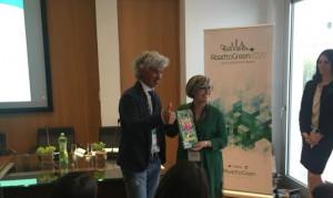 L'eco atleta albese Roberto Cavallo premiato a Roma