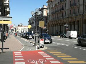 In un anno oltre 312 mila bici sulla pista di corso Nizza