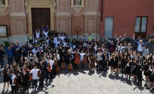 Quasi 3 mila studenti a Busca per il concorso musicale 'Alpi Marittime'