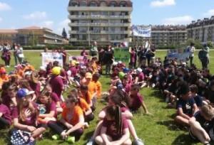 Più di 300 bambini a Cuneo per 'Giocosport'