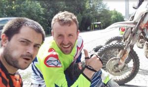 Il bovesano Maurizio Ghibaudo protagonista nel campionato regionale Enduro
