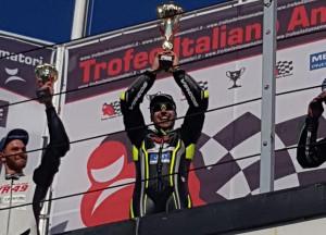 A Misano Adriatico vince un pilota della cuneese Black Racing Squadra Corse