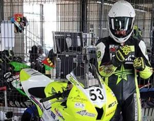 Motociclismo, una scivolata ferma la rincorsa di Francesco Curinga