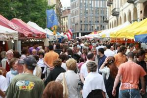 Ad Alba un weekend con il Mercato Europeo dall'8 al 10 giugno