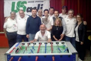 Terminato il campionato provinciale di Calciobalilla