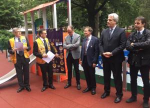 Al 'Paperino Club' di Cuneo un nuovo parco giochi 'inclusivo'