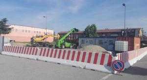 Cherasco: partiti i lavori per la costruzione della nuova palestra comunale