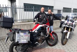 Due cuneesi in moto nei Balcani: la storia di Marco Picardi e Alessandro Gigante