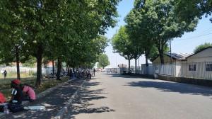 Mattinata di tensione all'ex Caserma di Saluzzo che ospita i migranti