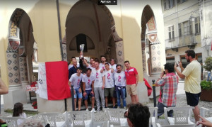 Dronero: la Pro festeggiata e premiata per il 'double' Coppa-campionato