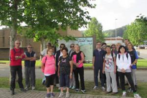 Inaugurati  i 'Sentieri Albesi', per il trekking partendo dalla città