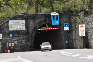 Colle di Tenda: il tunnel chiude di notte dal 18 al 22 giugno