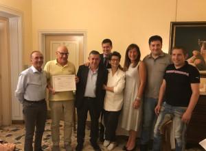 'Go Wine' premia il ristorante 'Il centro' di Priocca