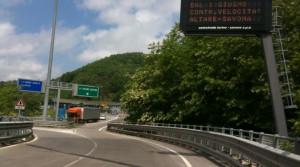 La A6 chiusa nel tratto Niella-Ceva verso Savona nella notte tra domenica e lunedì