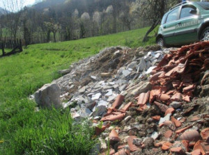 Smaltimento illecito dei rifiuti: in Granda ammende per 65 mila euro nel 2018