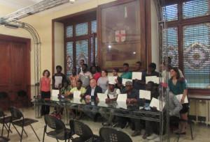 Giornata Mondiale del Rifugiato: consegnati ad Alba gli attestati ai partecipanti