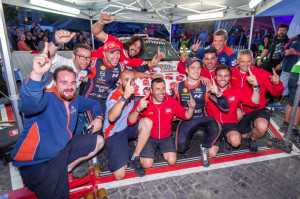 BRC Racing Team domina e vince il Rally di Ypres