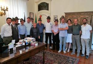 Il nuovo direttivo del Gruppo Alpini di Bra in Comune