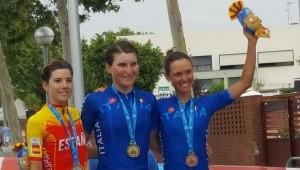 Ciclismo: Erica Magnaldi di bronzo ai Giochi del Mediterraneo