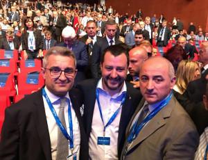 Assemblea nazionale Confartigianato Imprese: la Delegazione cuneese incontra Salvini e Di Maio