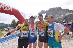 Podio tutto cuneese alla 'Val di Fassa Running': trionfa Manuel Solavaggione