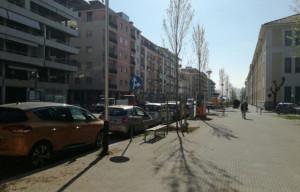 Cuneo: iniziati i lavori per la realizzazione della pista ciclabile su Corso Brunet