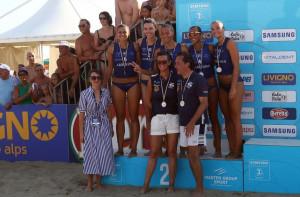 La Lpm Bam Mondovì conquista la medaglia d'argento al Samsung Lega Volley Summer Tour