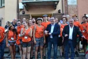 I volontari di Mirabilia a Busca, una storia da raccontare