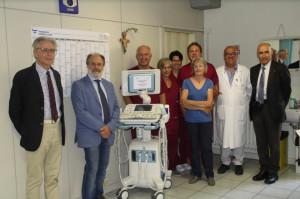 La Fondazione Lovera ha donato un ecografo alla Dialisi di Savigliano