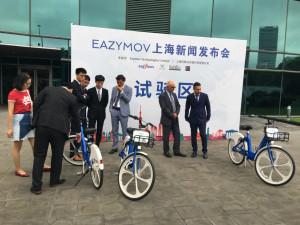 Bus Company in Cina per presentare l'innovativo servizio di bike sharing di Alba