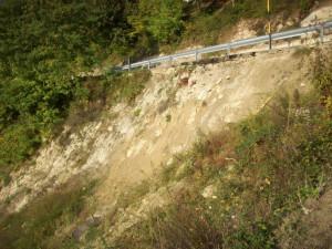 Frana di Borgomale, approvato il progetto di fattibilità per 500 mila euro