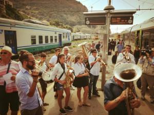 È arrivato il primo treno Cuneo-Ventimiglia